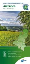 ANWB , Fietsknooppuntenkaart Ardennen 1:100.000