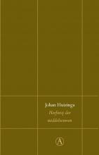 Johan Huizinga , Herfsttij der middeleeuwen
