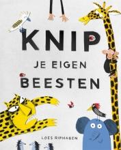 Loes  Riphagen Knip je eigen beesten - werkboekje