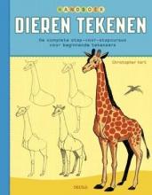 Hart, Christopher Handboek dieren tekenen