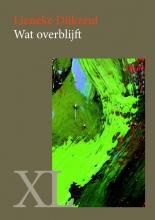 Lieneke  Dijkzeul Wat overblijft - grote letter uitgave