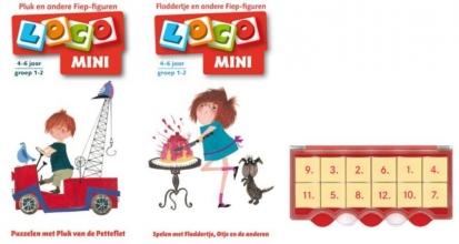 , Loco Mini Pluk en Floddertje (doos + 2 boekjes)