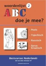 R. van der Knaap, ABC - Doe je mee? Woordenlijst 2