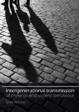 Sytske Besemer , Intergenerational transmission of criminal and violent behaviour