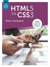 Peter Doolaard , HTML5 en CSS3