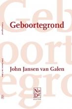 John  Jansen van Galen Geboortegrond