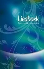 , Liedboek blauw/groen