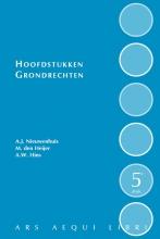 Maarten den Heijer Aernout Nieuwenhuis, Hoofdstukken grondrechten