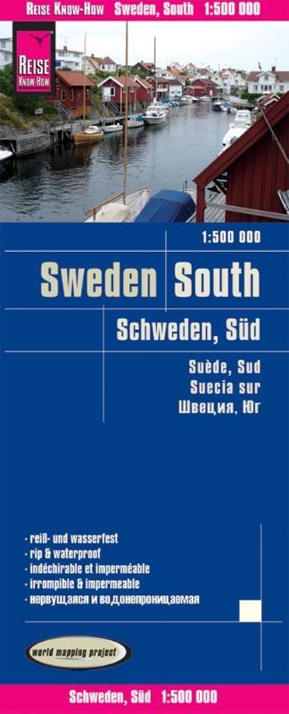 ,Reise Know-How Landkarte Schweden Süd 1 : 500 000