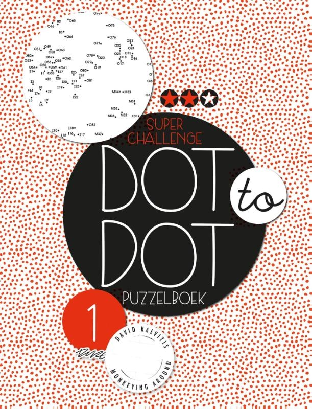 ,Dot to dot puzzelboek Super challenge deel 1