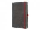 ,notitieboek Conceptum 194blz hard Vintage Dark Grey A4      gelinieerd