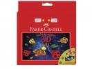 ,3D art Faber-Castell Connector 6 stiften incl 3D bril en    inkleurkaarten