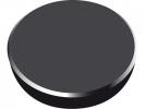,<b>magneet Alco 38mm rond doos a 10 stuks zwart</b>