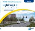 <b>ANWB onlinecursus rijbewijs B</b>,3D-theorie, leren en oefenen