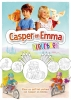 <b>Eddie  Dibba</b>,Casper en Emma kleurboek