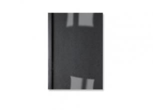 , Thermische omslag GBC A4 3mm linnen zwart 100stuks
