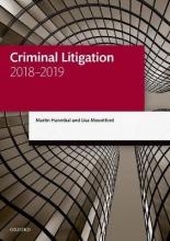 Hannibal, Martin Criminal Litigation 2018-2019