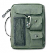 Compass Olive Green Extra Large Book & Bible Cover