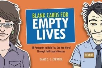 Zapanta, David S. E. Blank Cards for Empty Lives
