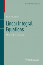 Ram P. Kanwal Linear Integral Equations