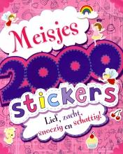 , 2000 stickers voor meisjes