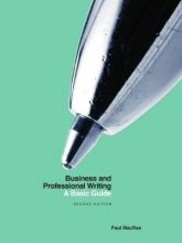 Paul MacRae Business and Professional Writing