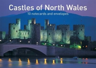 Graffeg Castles of North Wales Notecards