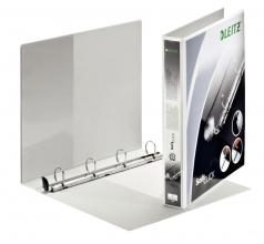 , Presentatieringband Leitz SoftClick A4 Maxi 4-rings D-mech 25mm wit