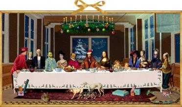 , Wand-Adventskalender - Das Weihnachtsmahl
