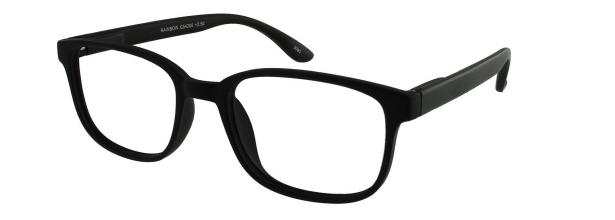 , Leesbril +3.00 regenboog zwart