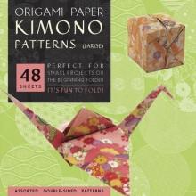 Tuttle,Publishing Origami Kimono Patterns Large