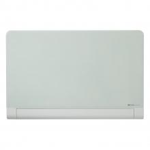 , Glasbord Nobo Widescreen afgeronde hoeken 99,3x55,9cm briljant wit