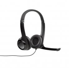 , Headset Logitech H390 Over Ear zwart