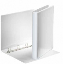 , Presentatieringband Esselte A4 4-rings D-mech 20mm wit