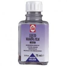 , Talens aquarel maskeervloeistof flacon 75 ml