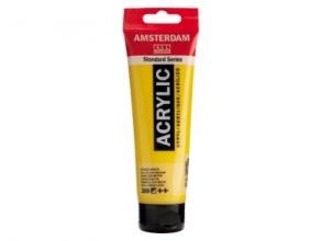 , Talens amsterdam acrylverf tube 120ml azogeel middel 269