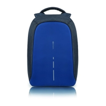 P705.535 Rugzak bobby compact donkerblauw/antraciet diver blue anti-diefstal 40x29x14 cm.