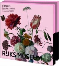 Wmc999 , Notecards 10 stuks 13x18 flowers collection rijksmuseum