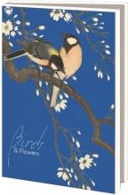 Lmc369 , Notecards 10 stuks 13x18 birds&flowers collection rijksmuseum