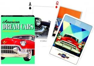 Pia-162015 , American dream cars - speelkaarten - single deck - piatnik