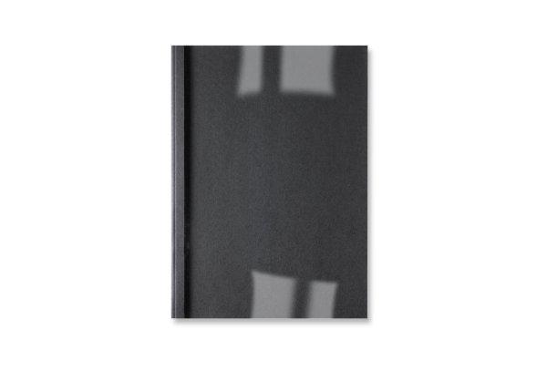 ,Thermische omslag GBC A4 3mm linnen zwart 100stuks