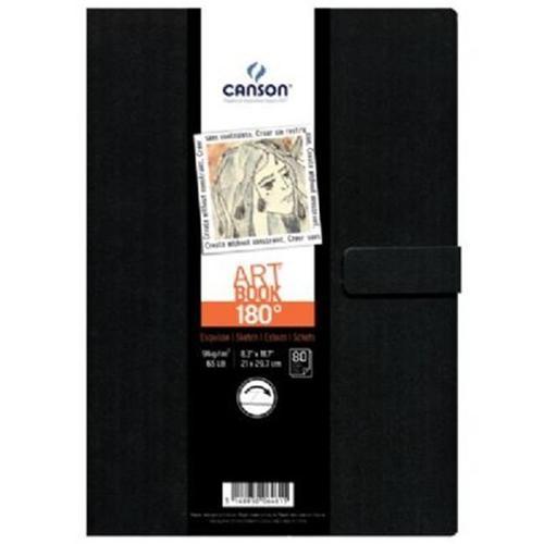 ,Tekenboek Canson Art 216x279mm 180graden 96gram 80vel