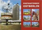 , Postkartenbox Ostberlin