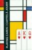 Pia-161315 , Squares - mondriaan - speelkaarten - singlew deck - piatnik