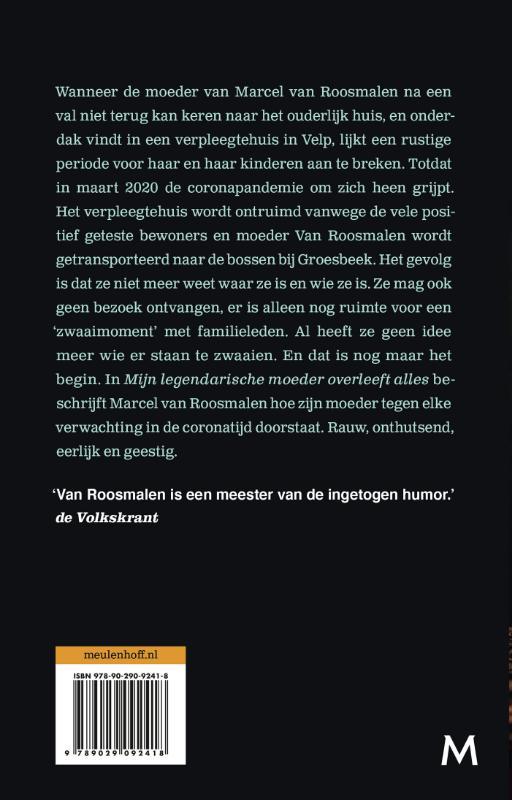 Marcel van Roosmalen,Mijn legendarische moeder overleeft alles