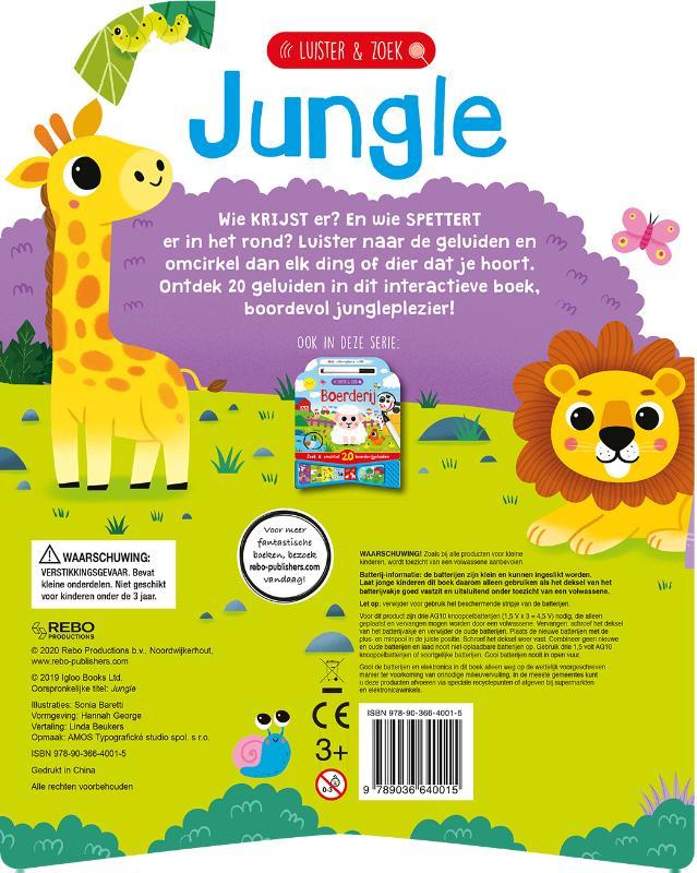 ,Jungle - luister & zoek