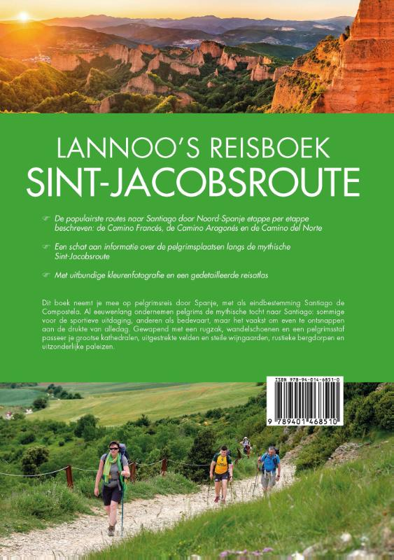 ,Lannoo`s Reisboek Sint-Jacobsroute