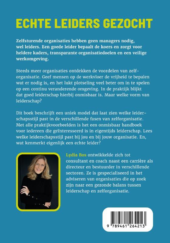 Lydia Bos,Echte leiders gezocht