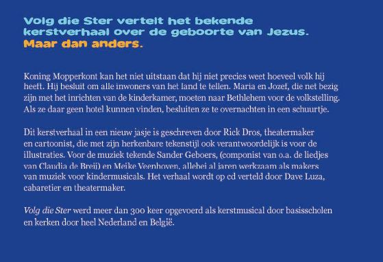 Rick Dros,Volg die ster