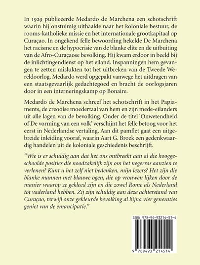 Aart G. Broek, Medardo de Marchena,Medardo de Marchena. Staatsgevaarlijk in koloniaal Curaçao